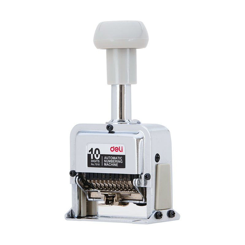 Deli E7510 10-Digits Numbering Machine (pc)