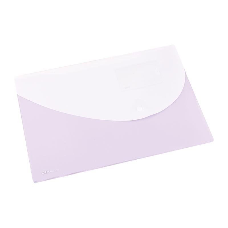 Deli E5506 Snap FC File Bag