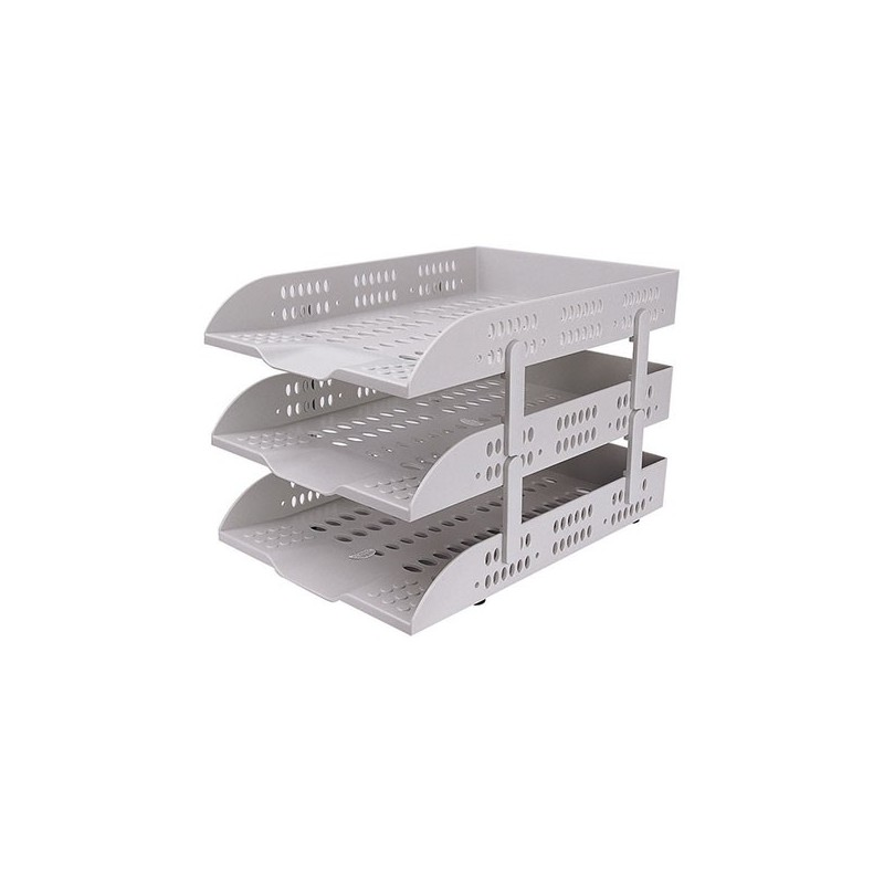 Deli E9215 3-Tier Document Tray