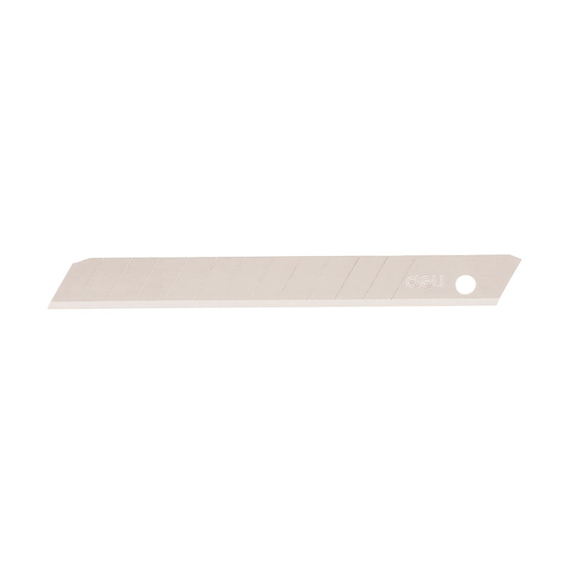 Deli E2012 Cutter Blades - 0.4 × 9 × 80mm (pkt/10pc)