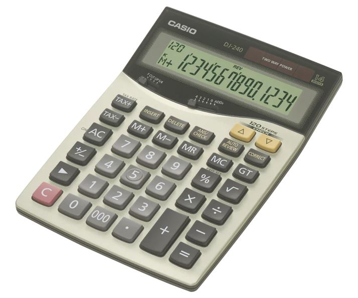 Casio DJ-240 Calculator