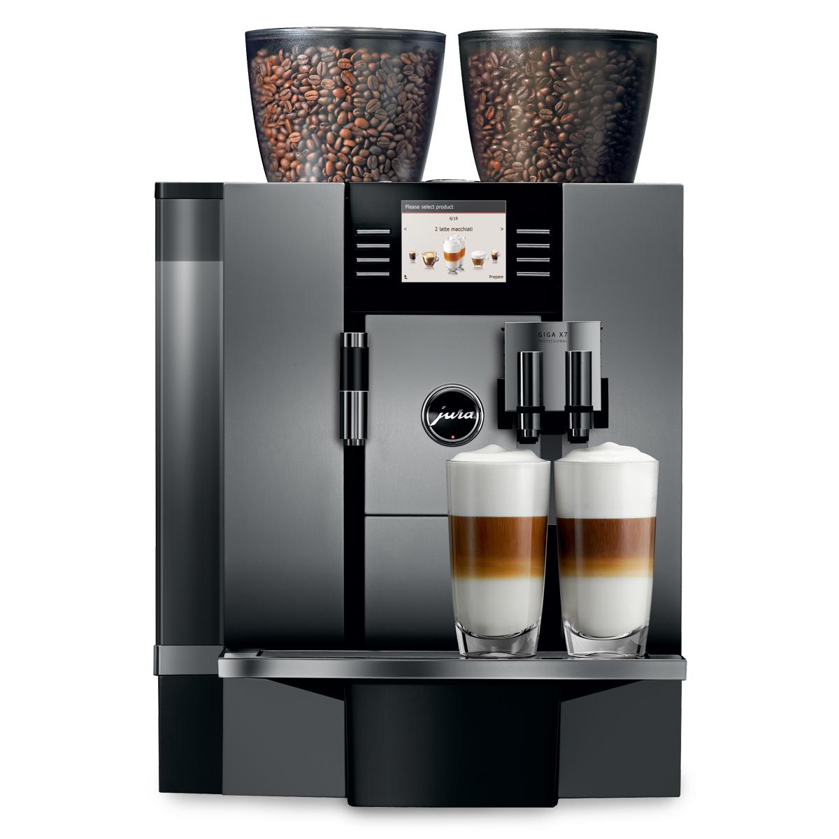 Jura Giga X7 Professional Coffee Machine - Aluminum