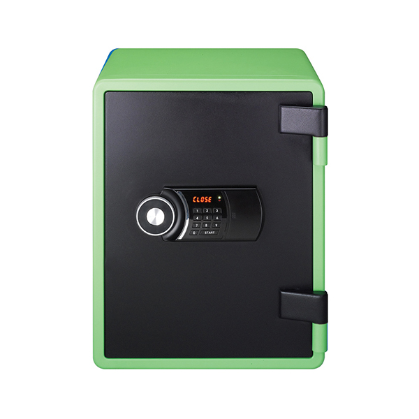 Eagle YES-031DK Fire Resistant Safe with Digital Keypad & Key Lock - Green
