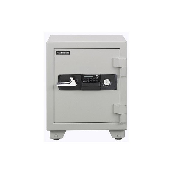 Eagle ES-035 Fire Resistant Safe with Digital & Key Lock - White