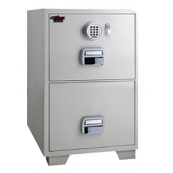 Eagle SF680-2EKX Fire Resistant Filing Cabinet with 2 Drawers