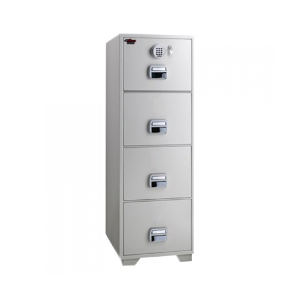 Eagle SF680-4EKX Fire Resistant Filing Cabinet with 4 Drawers