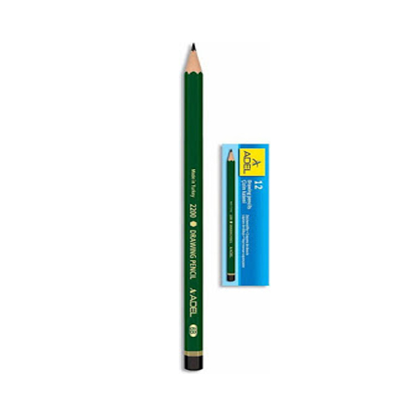 Adeland Blacklead Pencil Goldenhorn (box/12pc)