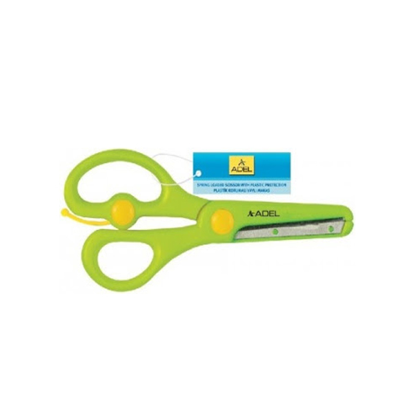 Adel Spring Loaded Scissors with Plastic Protection (pc)
