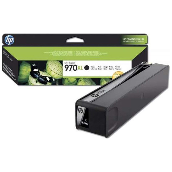HP 970XL High Yield Original Ink Cartridge - Black