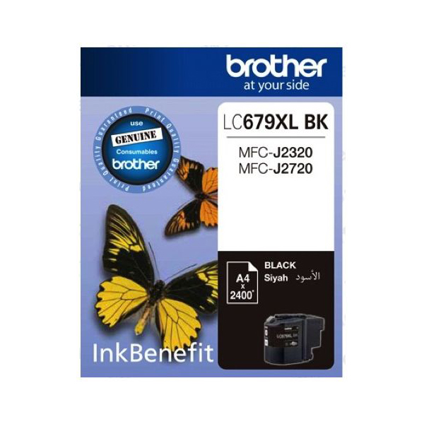Brother LC679XL Black Ink Cartridge