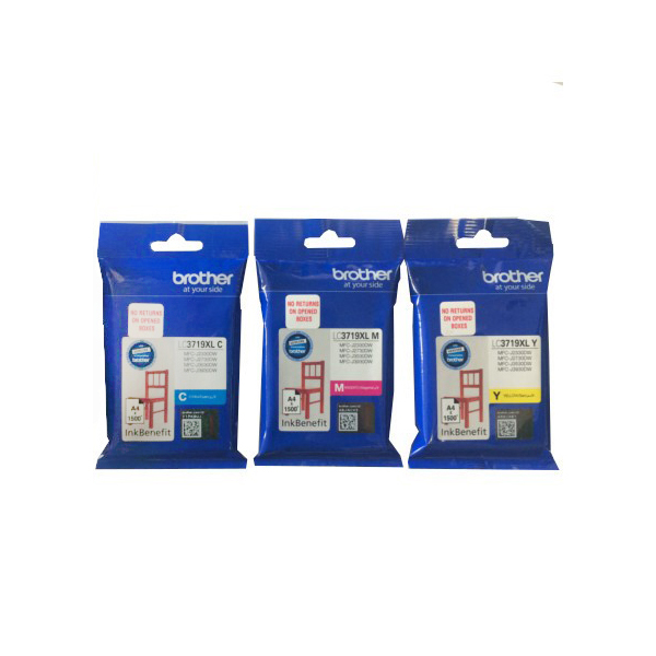Brother LC-3719XL Yellow Ink Cartridge