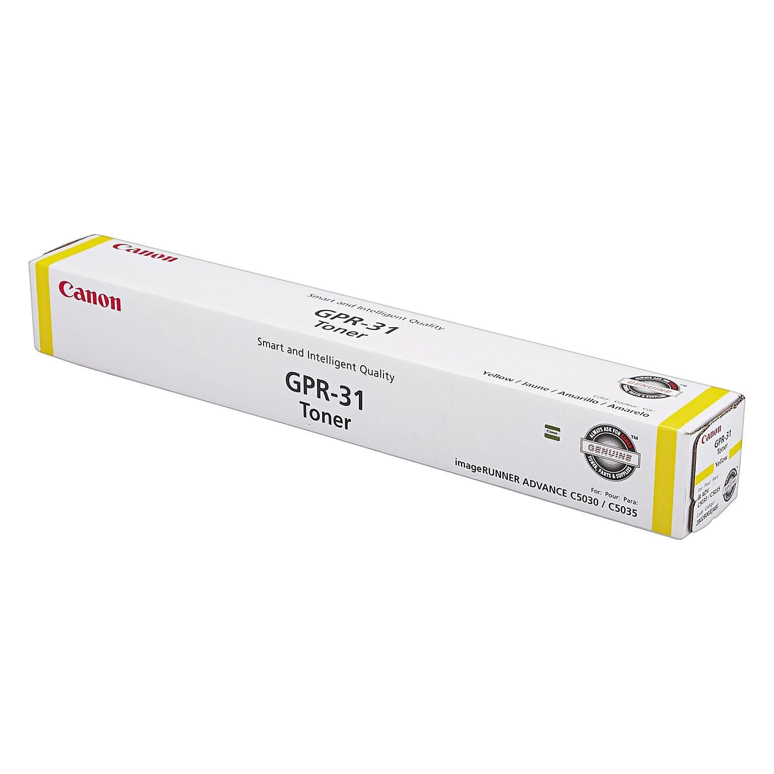 Canon GPR-31 Toner Cartridge (2802B003AA) - Yellow