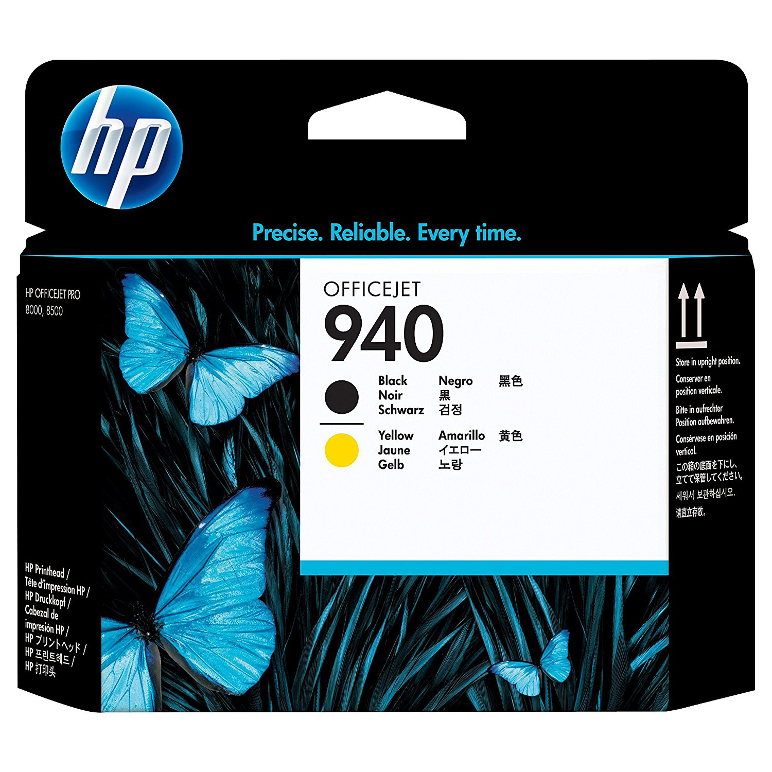 HP 940 Office Printhead (C4900A) - Black/Yellow