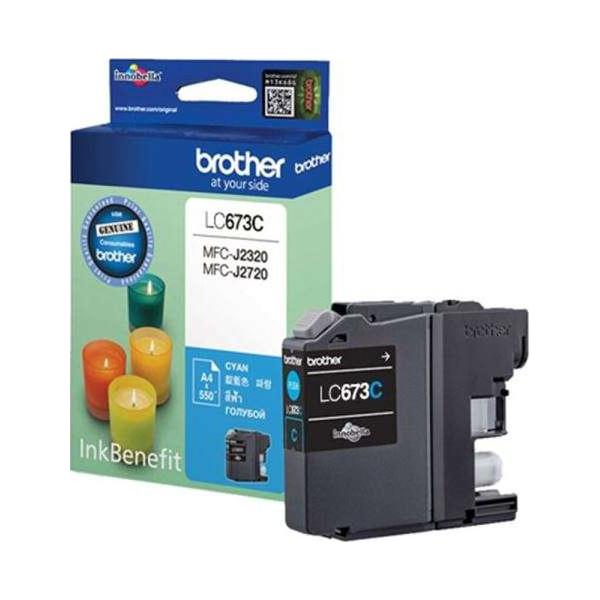 Brother LC-673 Cyan Ink Cartridge