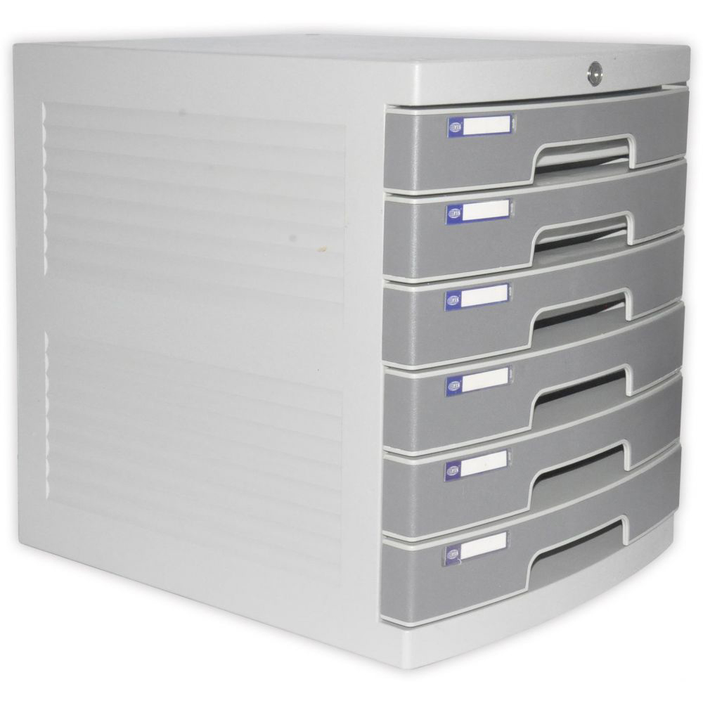 FIS File Cabinet (Plastic) With key, 6 Drawers - FSOTUS-3K
