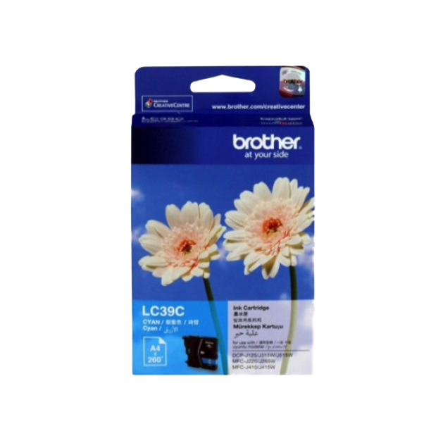Brother LC39C Ink Cartridge - Cyan