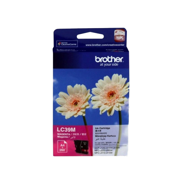 Brother LC39M Ink Cartridge - Magenta