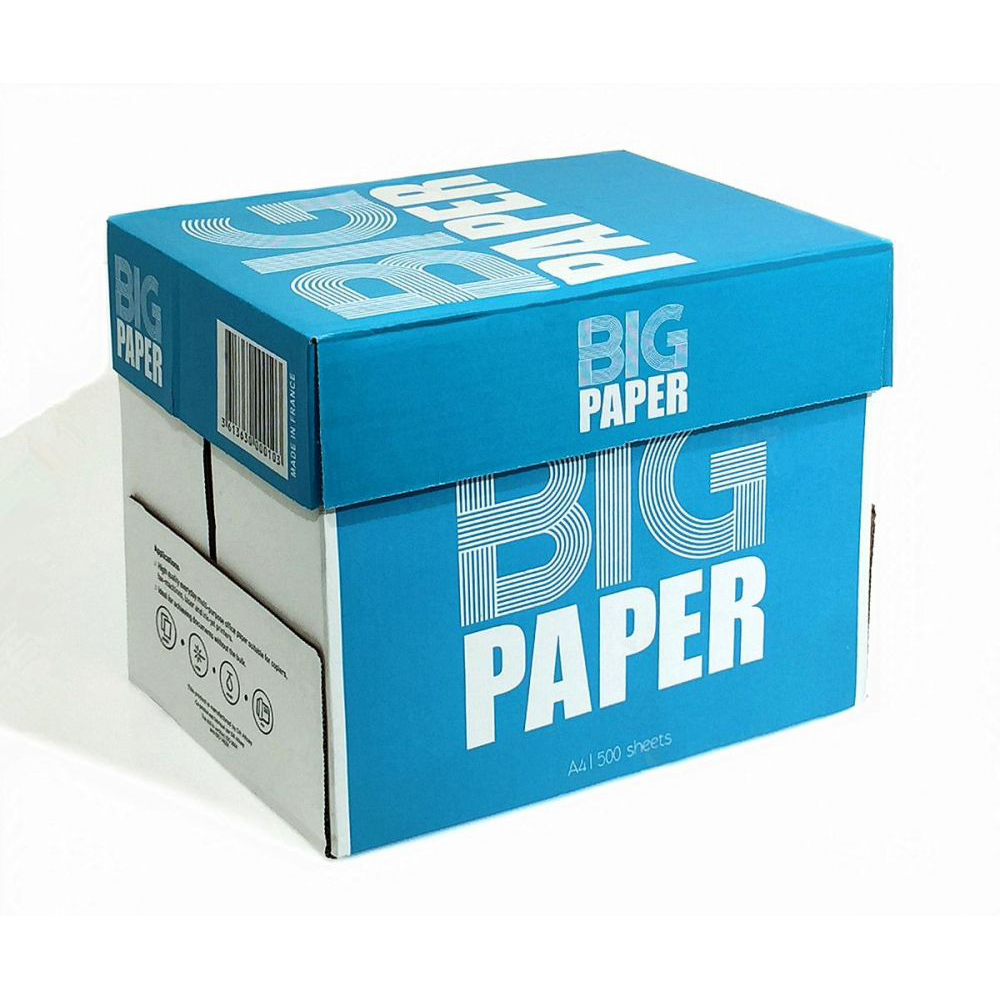 Big Paper Photocopy Paper 80gsm - A4 (box/5ream)