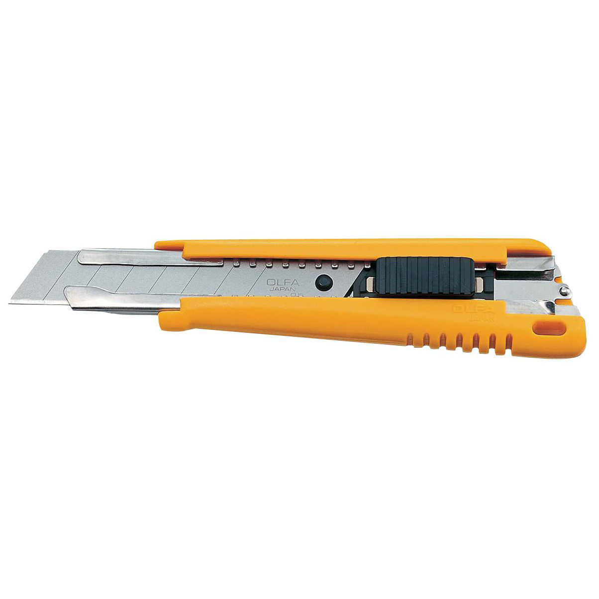Olfa EXL heavy duty cutter with auto lock mechanism