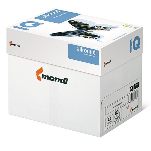 Mondi IQ Photocopy Paper 80gsm - A4 (Box/5ream)