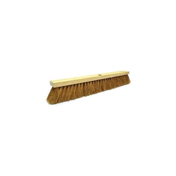 AKC CB01 Coco Broom With Stick - 24 inch
