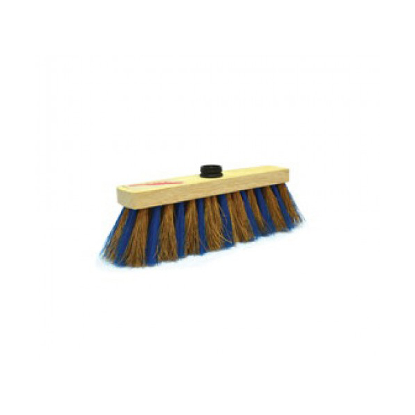 AKC CB11 Coco Broom with Rubber Socket and Stick - 12 inch