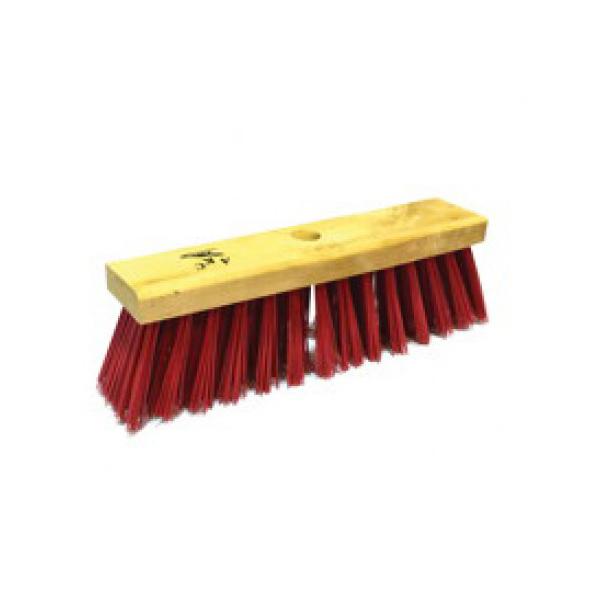 AKC HB03 6 Line Hard Broom With Stick