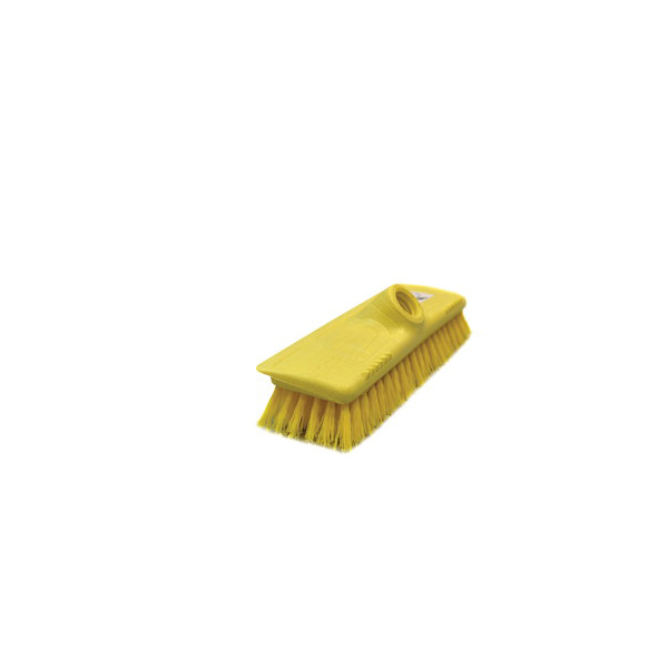 AKC HB16 Yellow Carpet Broom with Stick