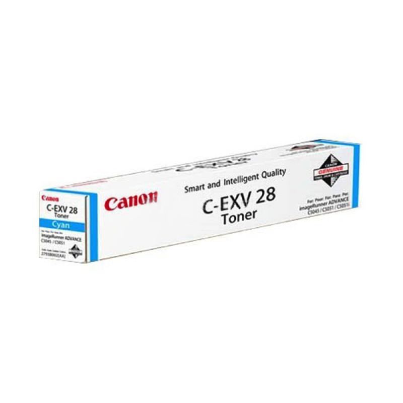 Canon C-EXV 28 Toner Cartridge - Cyan