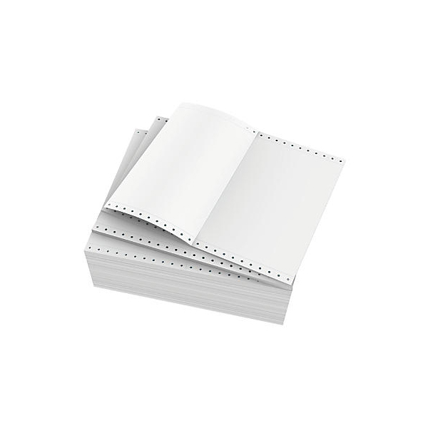 Amest Computer Continuous Form Paper 1-ply A4 (box/1000sheets)