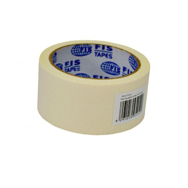 FIS Masking Paper Tape 2 in X 25 yds - White (box/24pcs)