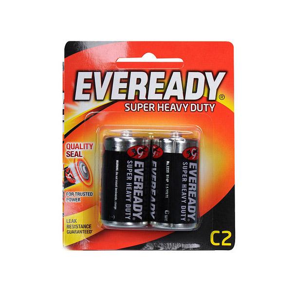 Eveready 1235 Super Heavy Duty C Battery (box/6pkt)
