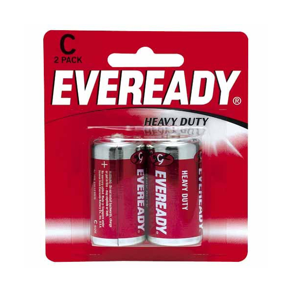 Eveready 1035 Carbon Zinc C Battery (box/6pkt)
