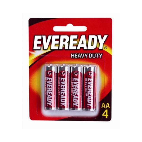 Eveready 1015 Heavy Duty AA Carbon Zinc Battery (box/20pkt)