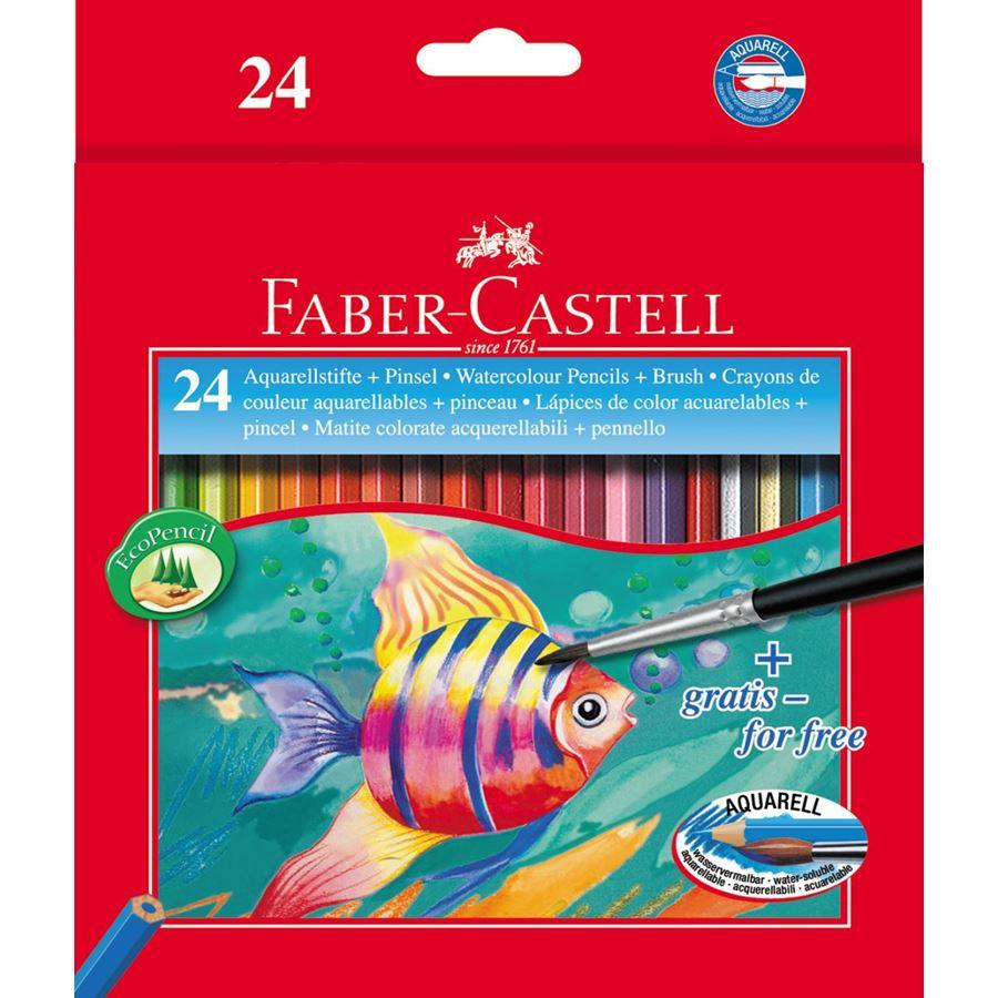 Faber Castell Watercolor Pencil (pkt/24pcs)