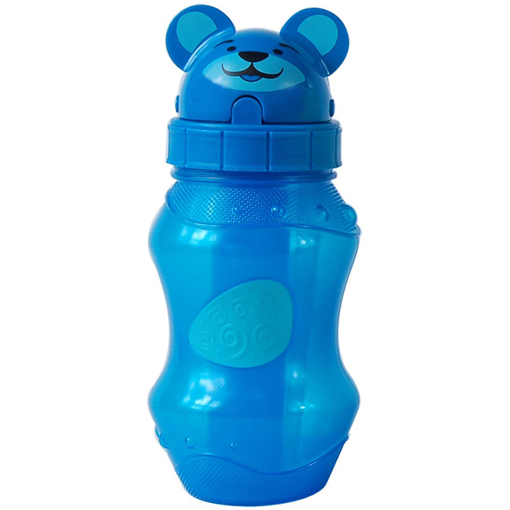Cool Gear Zooey Fliptops Water Bottle - Blue (0.4L)