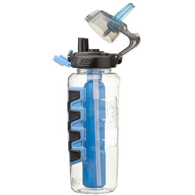 Cool Gear Grippler Water Bottle - Blue (1L)