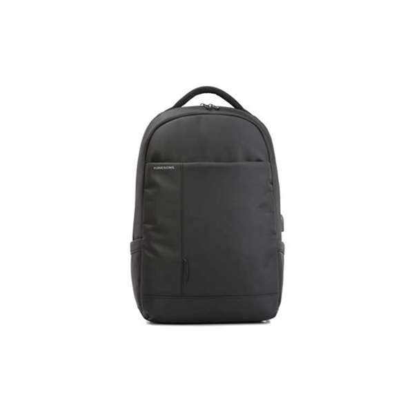 Kingsons Charged Series 15.6 in Smart Backpack w/ USB Port - Black