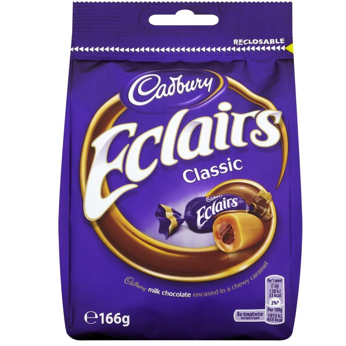 Cadbury Eclairs Classic - 166g (pc)