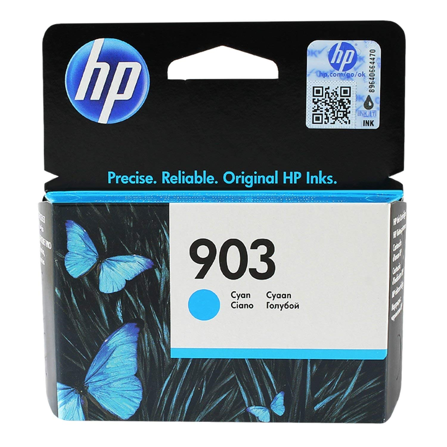 HP 903 (T6L87AE) Original Ink Cartridge - Cyan
