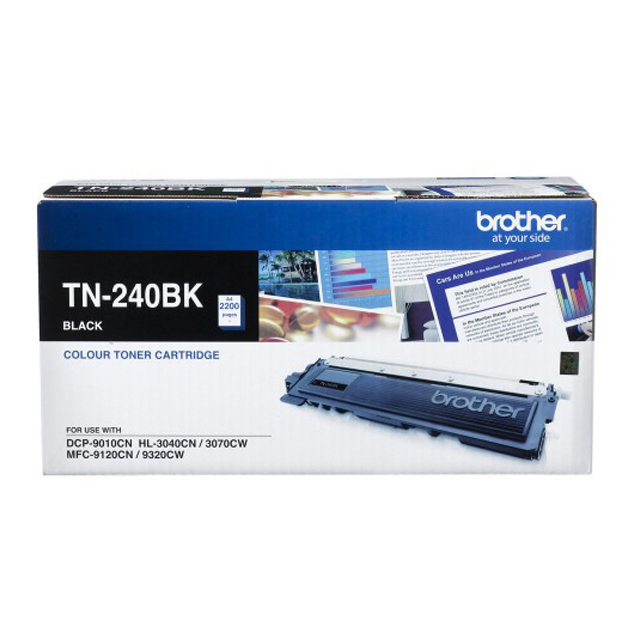 Brother TN-240BK Toner Cartridge - Black