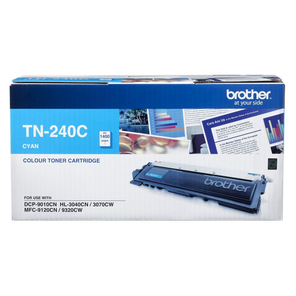 Brother TN-240C Toner Cartridge - Cyan