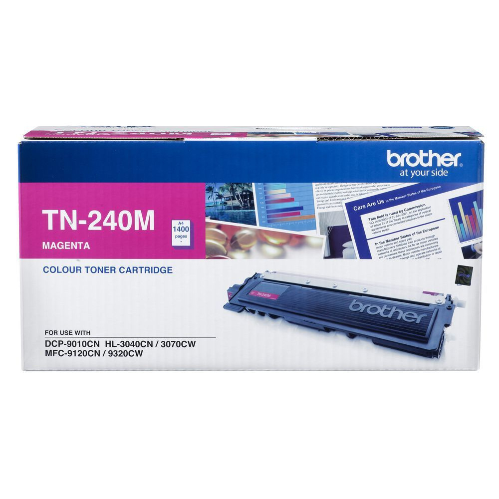 Brother TN-240M Toner Cartridge - Magenta