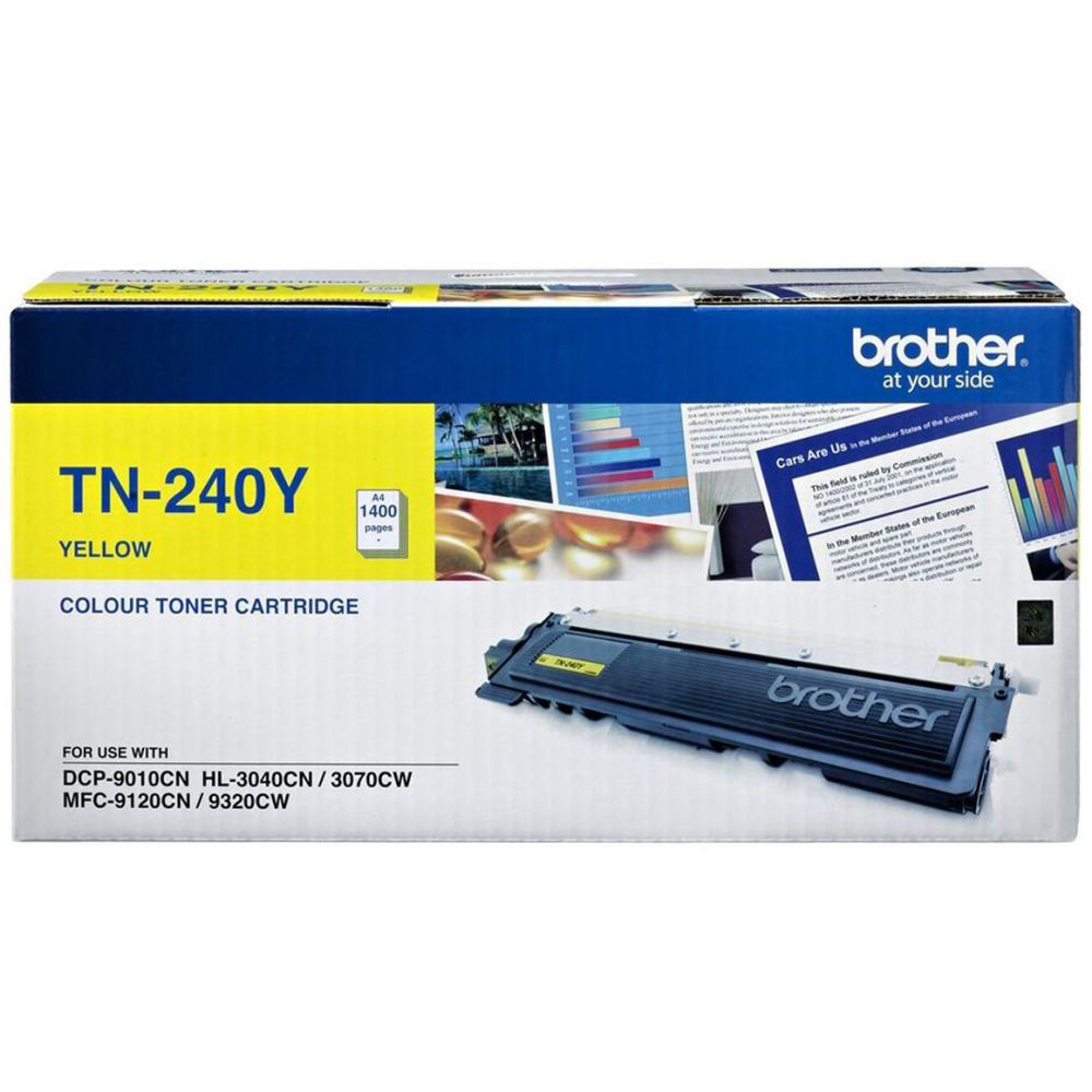 Brother TN-240Y Toner Cartridge - Yellow