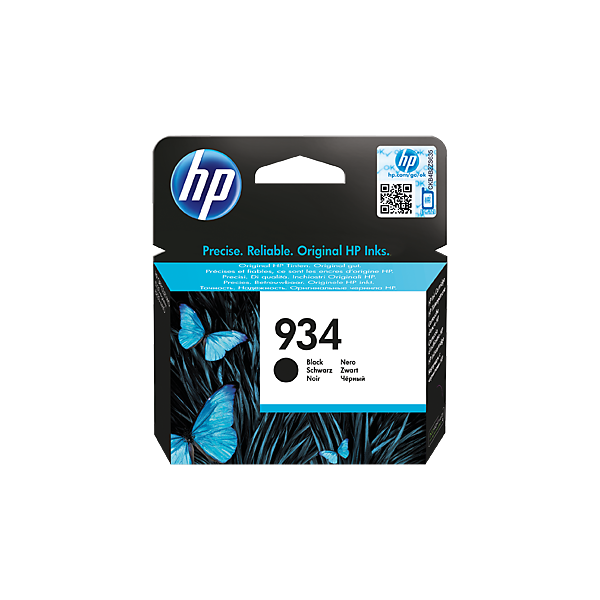 HP 934 (C2P19AE) Original Ink Cartridge - Black