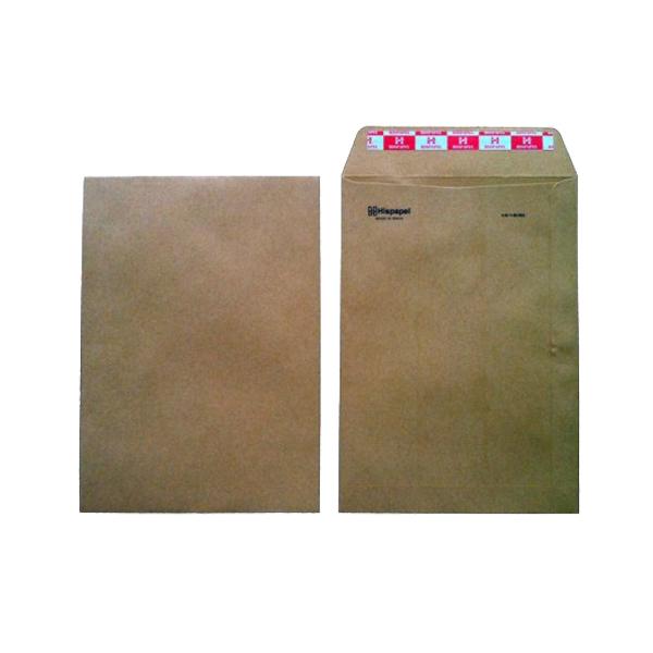 Hispapel A4 16in x 12in Envelope - Brown (pkt/50pcs)