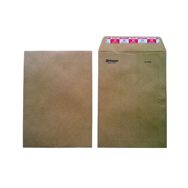 Hispapel A4 16in x 12in Envelope - Brown (pkt/100pcs)