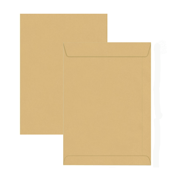 Hispapel A4 12in x 10in Envelope - Brown (pkt/250pcs)