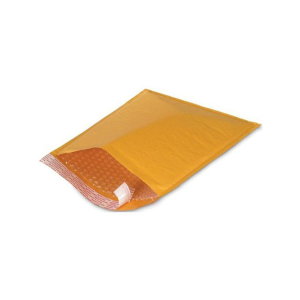 Hispapel Air Bag No.11 4in x 6.6in Bubble Envelope - Brown (pkt/25pcs)