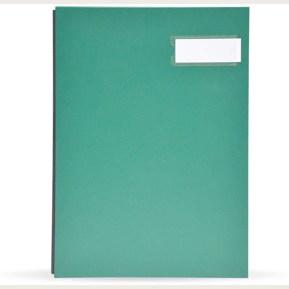 FIS Signature File PP Material Cover 240x340mm - Green (pc)